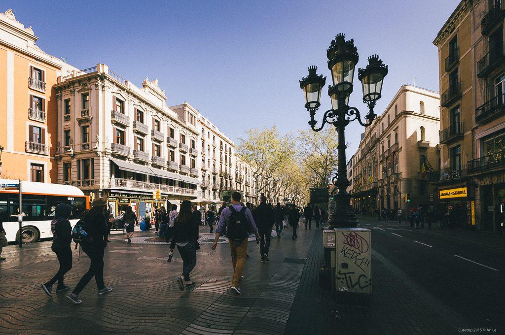 Đại lộ La Rambla