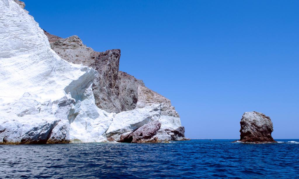 White beach - Santorini - Image credit: Alex Martini