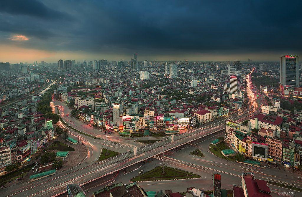 cityscape Hanoi