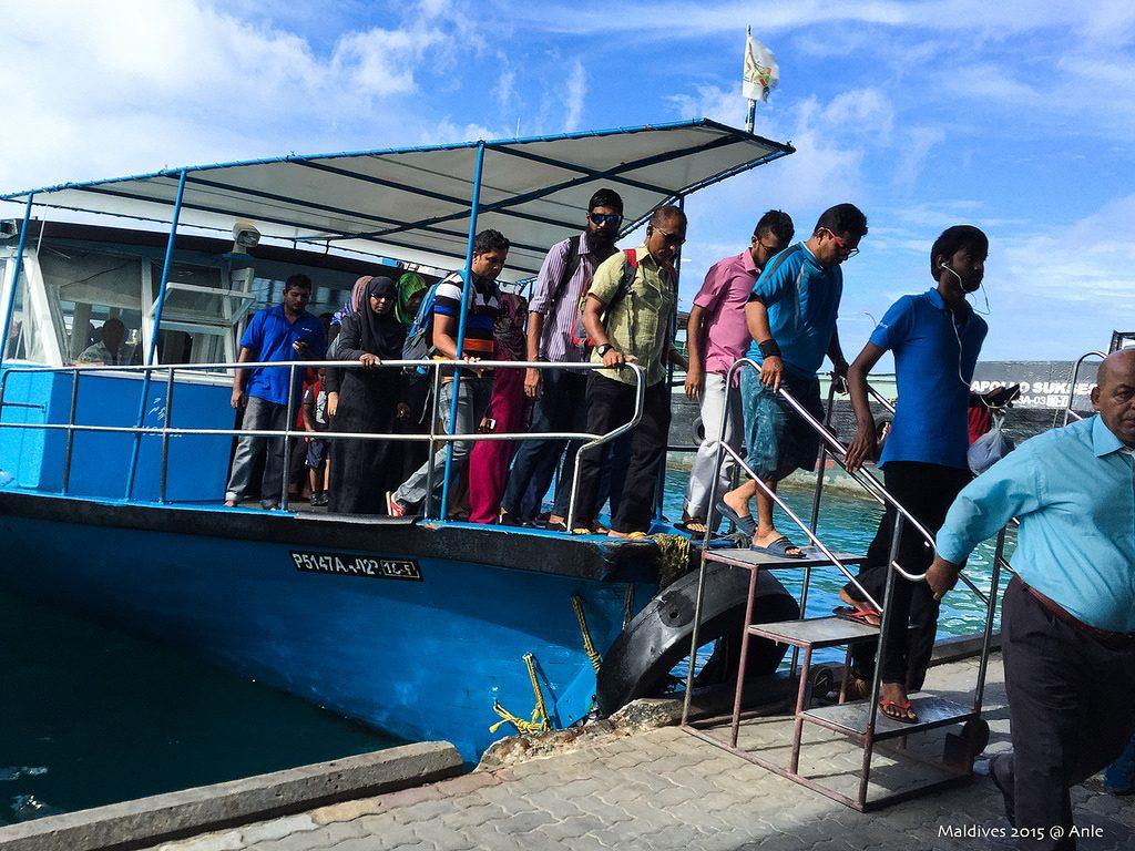 Public ferry Maldives