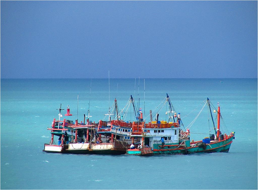 Trên biển Koh Pha Ngan