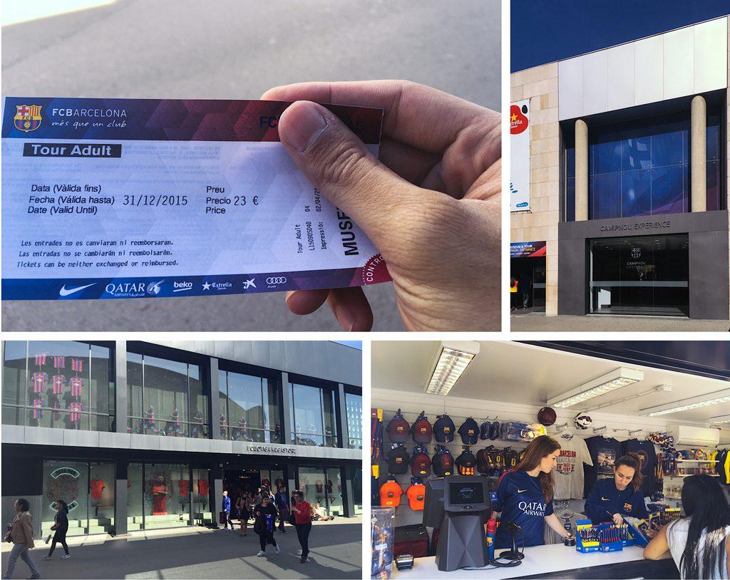 Vé Camp Nou Tour