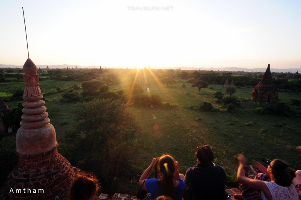 Hoàng hôn Bagan