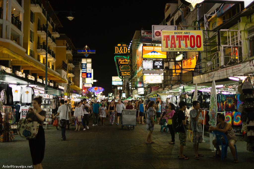 Khao San - Bangkok về đêm