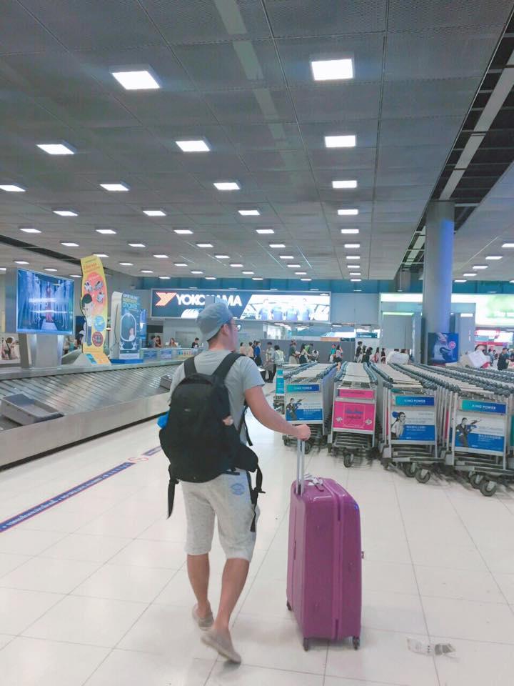Lấy hành lý ở sân bay Suvarnabhumi - Travelpx
