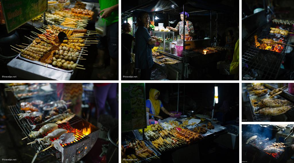 Các món nướng ở bãi biển Ao Nang