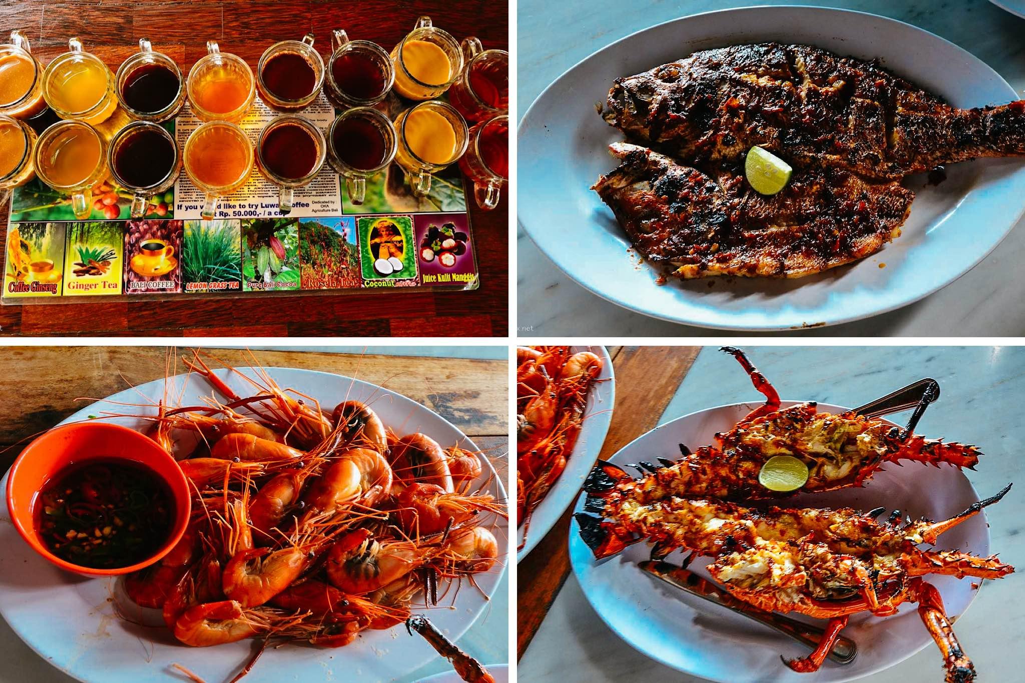 Các món ăn ở Bali