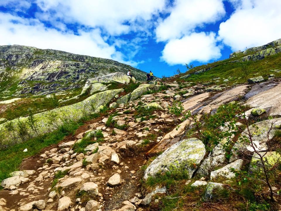 Keo dốc đá Km 3