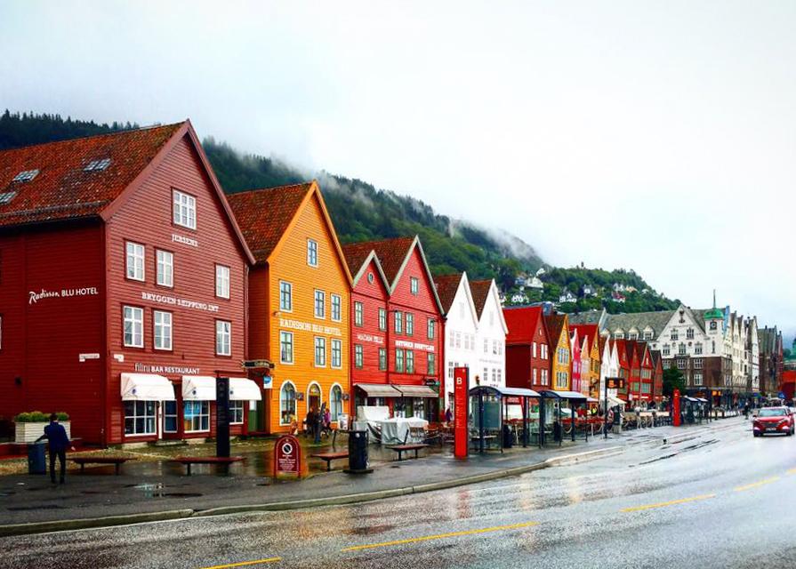 Bergen thành phố lớn thứ 2 của Nauy