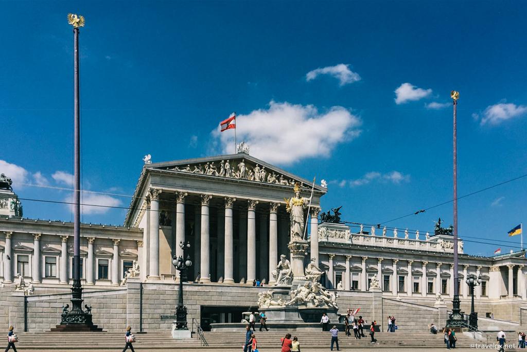 Austrian Parliament Building - toà nhà quốc hội