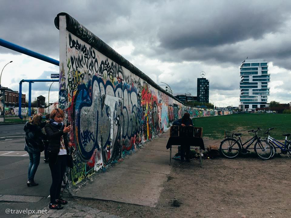 Đoạn dài nhất của bức tường Berlin còn sót lại
