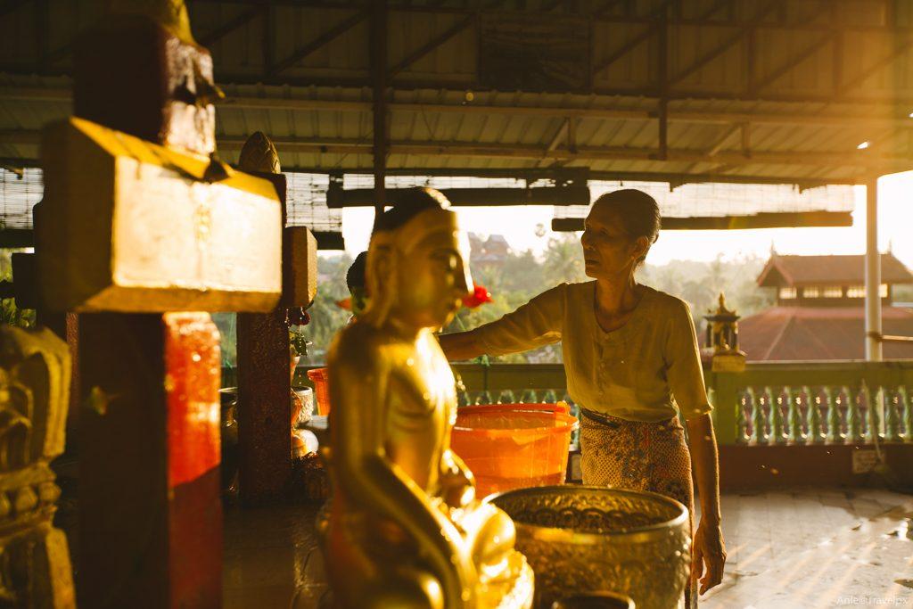 Chùa Phật nằm - Yangon